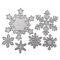 Christmas Snowflake Metal Cutting Dies Scrapbooking Album DIY Card Making-Craft