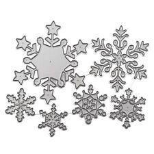 Christmas Snowflake Metal Cutting Dies Scrapbooking Album DIY Card Making Craft