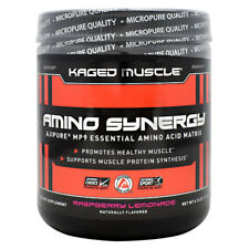 Kaged Muscle AMINO SYNERGY Essential Amino Acids, 30 Servings RASPBERRY LEMONADE