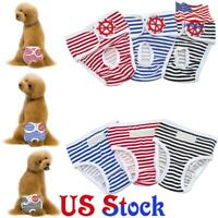 Pet Physiological Panties Sanitary Underwear Female Dog Diapers Clothes Pants