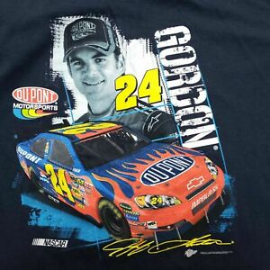 Winners Circle Jeff Gordon Graphic T-shirt Size XXL