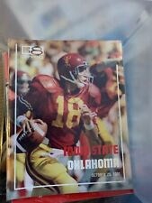 1980 Oklahoma Sooners Iowa State Cyclones Program Norman Ames OU ISU