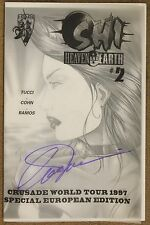 Shi Heaven And Earth (1997 Crusade) #2 Ashcan SIGNED Bill Tucci NM