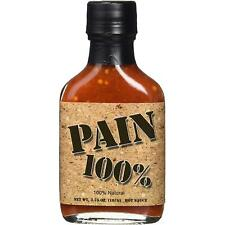 Pain 100% Very Hot Sauce Extremely Spicy Habanero Pepper 107g Chilli Condiment