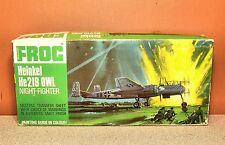 1/72 FROG HEINKEL He-219 OWL NIGHT-FIGHTER MODEL KIT #F177