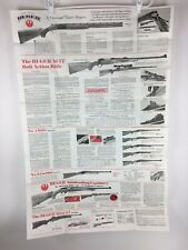 1978 Ruger Poster Catalog Dealer Store Display Single Action Revolvers