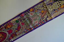 Wall  Hanging Indian  Home Decor Patchwork Handmade Tapestry Table Runner R-02
