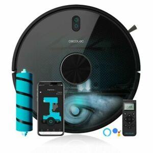 Robot Aspirador Conga 5490 Cecotec 10.000 Pa. tecnología Cy-Clean. Cepillo JALIS