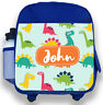 Personalised Kids Backpack Any Name Dinosaur Boys Childrens Back To School Bag 3
