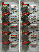 Lot of 10 Genuine Maxell CR2032 CR 2032 3V LITHIUM BATTERY Made in Japan Fresh