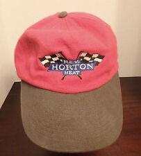 Reverend Horton Heat Baseball Cap Hat Rockabilly Psychobilly Racing Flags Red