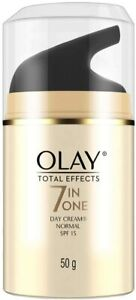 Olay Day cream Total Effects 7 in 1, day cream normal SPF 15, 50g pack of 1
