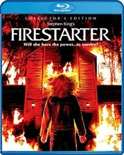 FIRESTARTER New Sealed Blu-ray Collector's Edition Drew Barrymore Stephen King