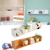 Wall Mount Floating Media Center Display Shelf CD DVD Storage Home Decor 37Inch
