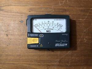 yokogawa my10 tester misuratore di resistenza isolamento multimetro
