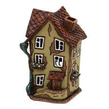 Keramik Teelichthaus Lichterhaus Teelichthalter Fachwerkhaus Stall 11 cm 40647