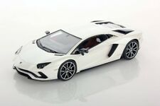 LOOKSMART LOOLS468D - Lamborghini Aventador S blanc ballon - 2017  1/43