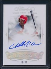 2018 Panini Flawless WILLIE McGEE Autograph Auto Signed 11/25 Cardinals