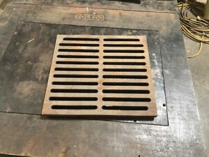 East Jordan Trench Drain Grates Model ID 6958 Lot of 10 Used 300 Available