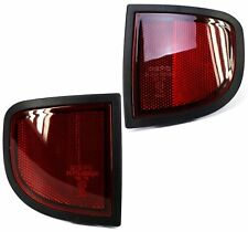 Rear Reflector Lights for Mitsubishi L200 MK5 2006+ (Pair)
