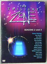 LIKE NEW The Twilight Zone  Seasons 2 & 3  FF DVD 7-Disc Set 1980's ReBoot