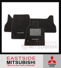 GENUINE MITSUBISHI PAJERO NS NT NW NX BLACK CARPET FLOOR MATS SET OF 3 MR935718