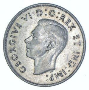 Better Date - 1943 Canada 50 Cents - SILVER *226