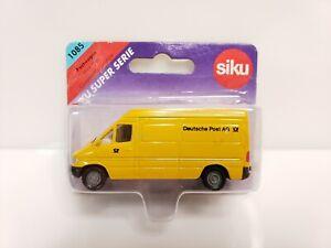Siku Super 1085 Postwagen Post Van 1/64 Yellow