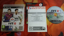 FIFA 12 PAL ESP PLAYSTATION 3 PS3 BOX BOXED