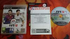 FIFA 12 PAL ESP PLAYSTATION 3 PS3 SCATOLA BOXED