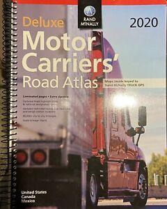 2020 deluxe motor carriers' road atlas NEW