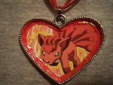 Big Gift Novelty Vulpix Pokemon Necklace Kawaii Cute Cool Anime Fox Jewelry