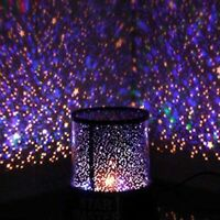 Lava Lamp Light Night Motion Liquid Vintage Silver Retro Base Blue Lite New