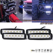 4pcs 6inch 18W Flood LED Work Light Bar For Jeep ATV Truck SUV Driving Fog Lamp