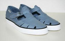 ESPRIT Schuhe Sandalen Sneaker SchnalleTextil blau Gr. 39 NEU