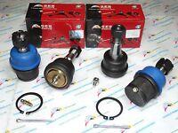 4WD Fit 03-10 Ram 2500 3500 4 Lower & Adjustable Upper Ball Joints K7467 K7448