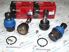 4WD 03-10 Ram 2500 3500 4 Front Lower & Upper Adjustable Ball Joints K7448 K7467