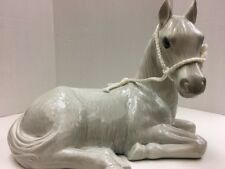 Konopa Ceramics Unique Ceramic Large Gray Horse Jl100417