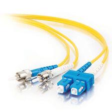 C2G Single-Mode ST Fibre Optic Cables