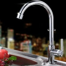 Cold Water Tap Basin Kitchen/Bath Wash Basin Rotate Faucet Chrome Plated