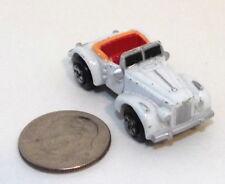 Small Micro Machine Plastic Packard 1940 Darrin Sports Car in White