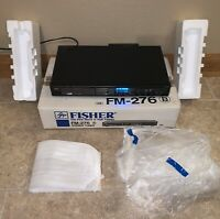Vintage Fisher FM-276 Synthesizer AM/FM Stereo Tuner In Box Styrofoam/Packaging