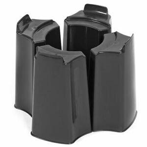 Original Organics Black 4 Piece Adjustable Water Butt Stand - Fits Various Water