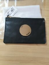 BNWT MIMCO WAVER SMALL POUCH BLACK GOLD RRP 79 EXPRESS