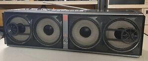 Antik Philips D 8349 GHETTOBLASTER Cassetten Recorder Bj.1998