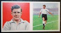 Tottenham Hotspur   Medwin  Vintage Double Picture  Colour  Footballer Card