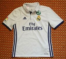2016 Real Madrid, Home Football Shirt by Adidas Boys Medium, 152