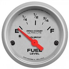 Autometer 4314 Ultra-Lite Fuel level Gauge  2-1/16 in., Electrical