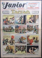 JUNIOR Le Journal de Tarzan fascicule n°123 du 4 août 1938 Très bon état