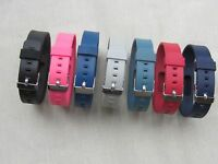 Replacement Wristband With Metal Watch Buckle for Fitbit Flex Activity Tracker